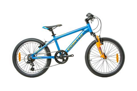 детский велосипед Corto CUB 2021 синий