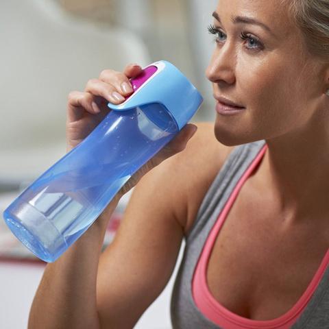 Бутылка спортивная Contigo Rush (0,55 литра), голубая