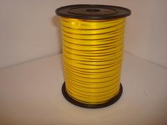 Лента с золотой полоской (0,5см*250ярд) Желтая