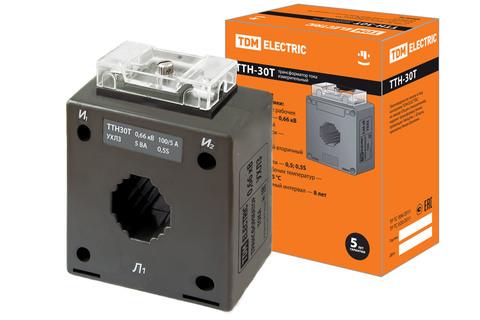 ТТН  30T/100/5- 5VA/0,5S-Р TDM