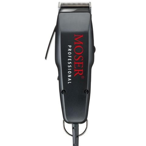 Машинка для стрижки Moser 1400 Edition, сетевая, 1 насадка, 10 Вт, черная