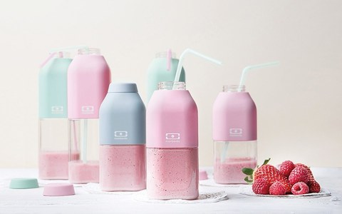 Бутылка для воды спортивная многоразовая MB Positive 0,5 л светло-серая