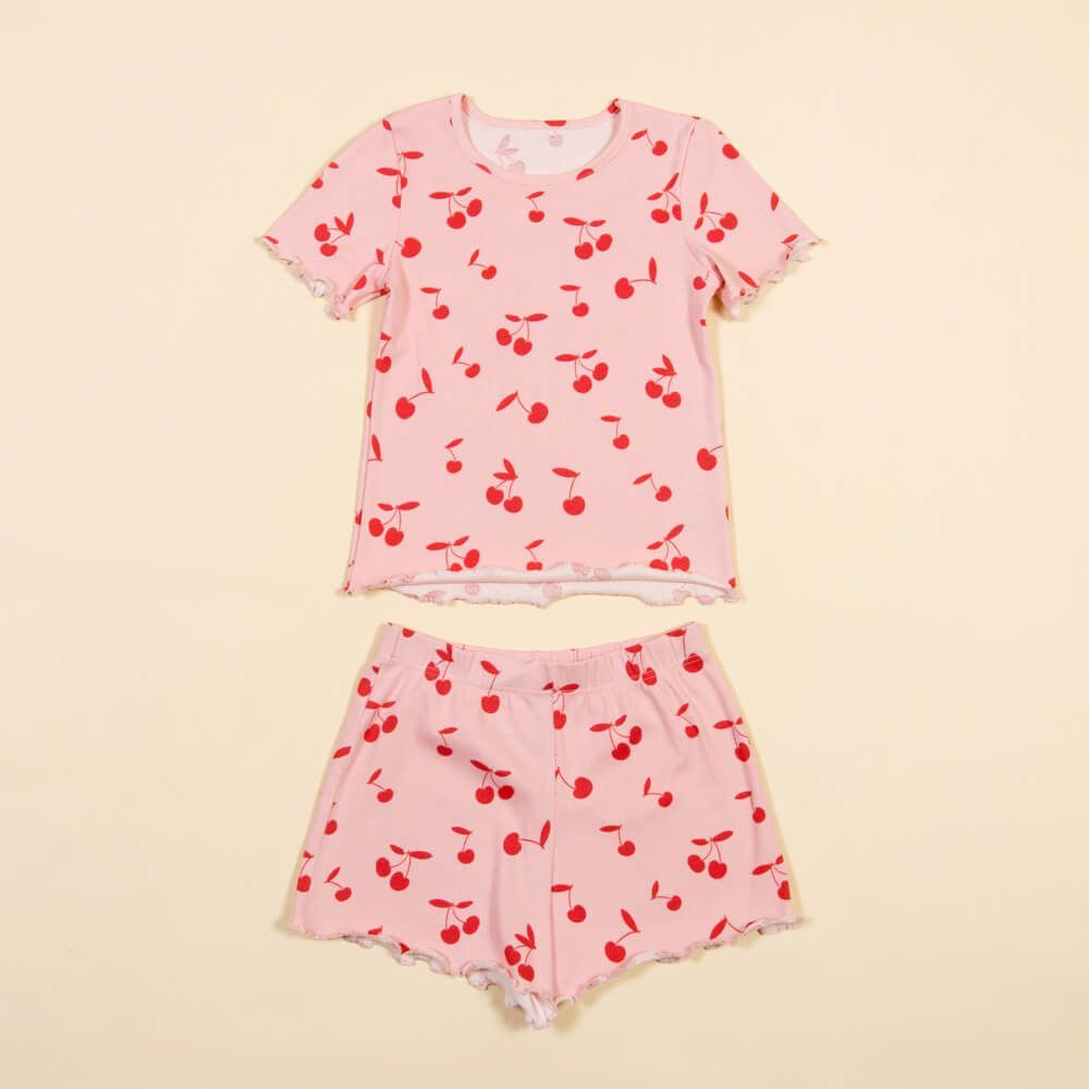 Детская женская пижама E20K-44P103