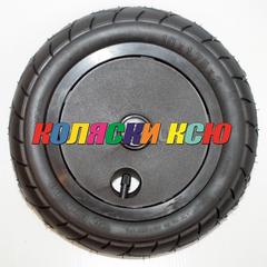Колесо для детской коляски №007018 надув 10дюймов без вилки 47-152 10х1,75х2 (втулка на ось 10мм)