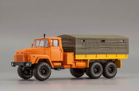 KRAZ-260 1979 orange 1:43 Nash Avtoprom
