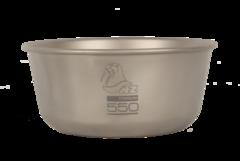 Титановая пиала Novaya Zemlya Titanium Bowl 0,55 л TB-550