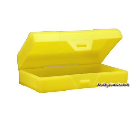 Кейс Chibby Gorilla для двух 18650 жёлтый