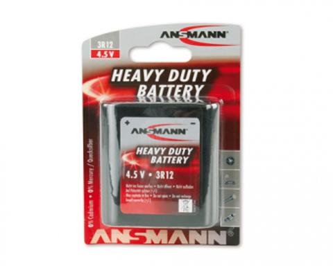 Батарейка Ansmann 3R12 (4.5V, 2000mAh) - 1 шт.