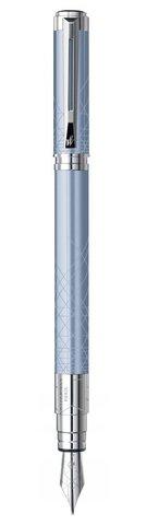 Перьевая ручка Waterman Perspective, цвет: Azure CT, перо: F123