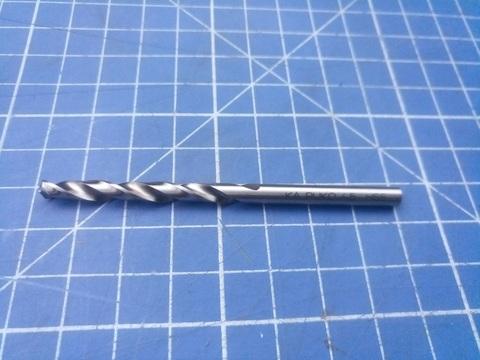 Сверло по металлу ц/x 4,5x80/47мм DIN338 h8 5xD HSS-G 118° Ruko 214045 (ВБ)