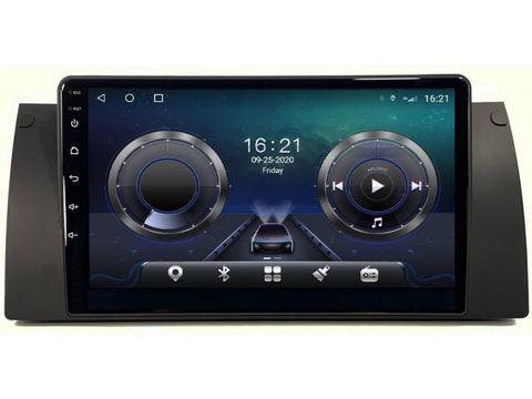 Магнитола для BMW 5 E39/X5 E53 Android 10 6/128GB IPS DSP 4G модель CB-3062TS10