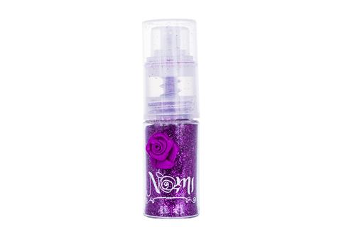 Пудра с блестками NOMI «Сверкающая фиалка»
