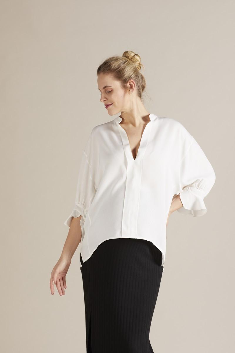 Блузка для беременных 09732 белый