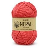 Пряжа Drops Nepal 8909 розовый коралл