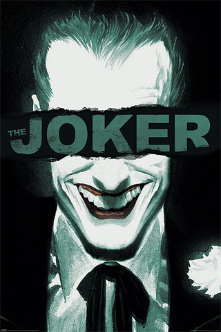 Постер DC: The Joker (Put on a happy face)