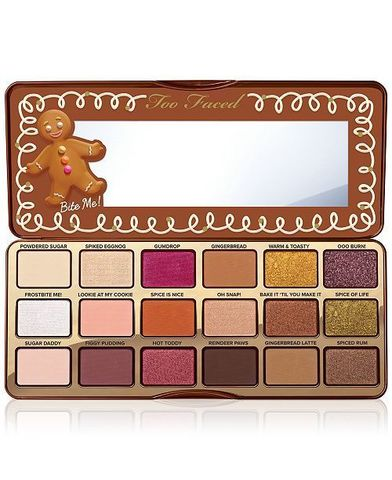 Too Faced Gingerbread Spicy palette