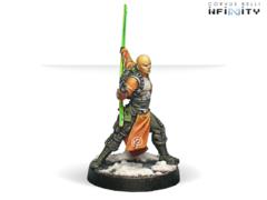 Shaolin (вооружен Shock CC Weapon)