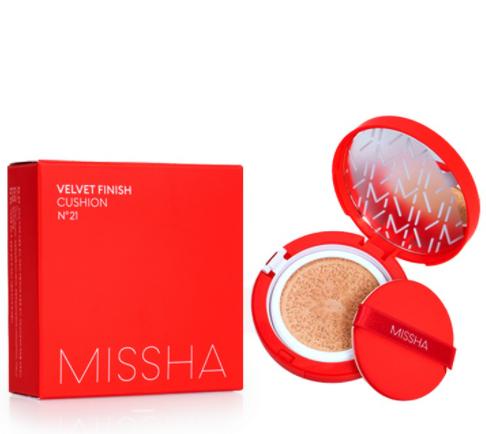 MISSHA Velvet Finish Cushion кушон SPF50 PA+++ 15г