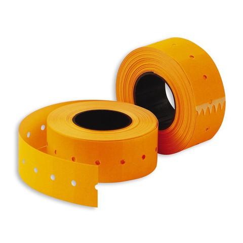 Этикетки 26х16 оранжевая прямой край TOVEL (950)