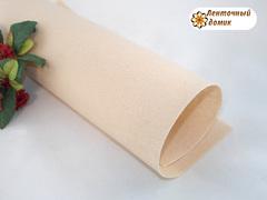 Фетр жесткий толщина 1 мм светло-персиковый