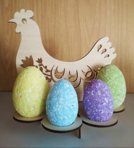 Курица подставка на 8 яиц