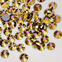 Купить оптом стразы Aurum Rose розово-золотые