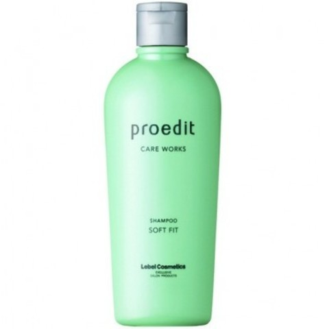 Lebel Proedit Home Charge: Шампунь для сухих и жестких волос (Shampoo Soft Fit), 300мл/700мл/1л
