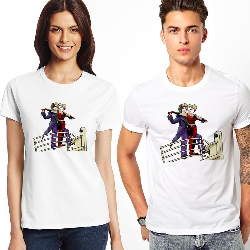 Футболка Джокер и Харли Квинн — Титаник