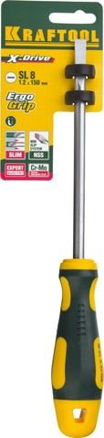 KRAFTOOL Х-Drive SL8x150 отвертка