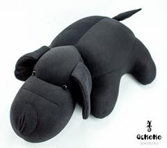 Мягкая игрушка-подушка Gekoko «Мохнатый Патрик Черный» 3
