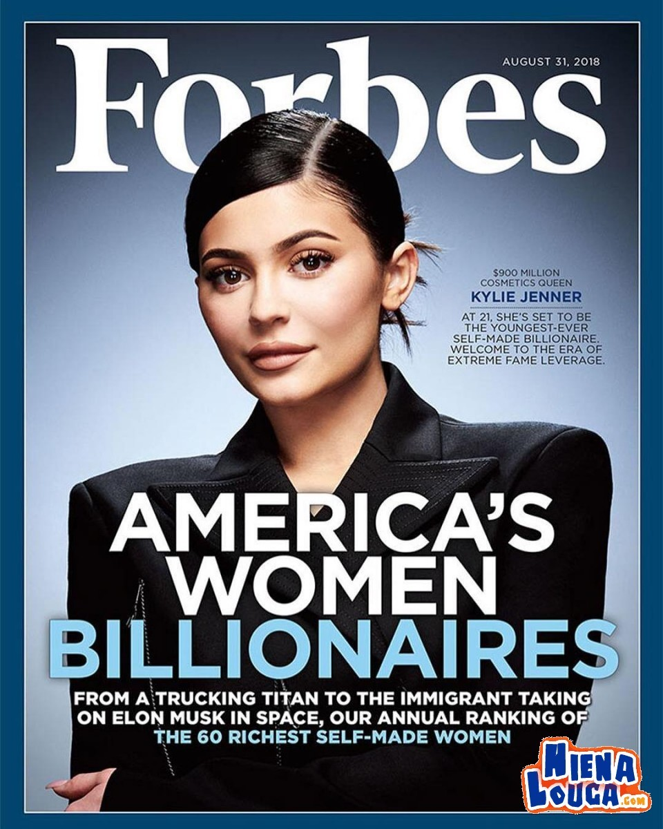Forbes Kylie журнал