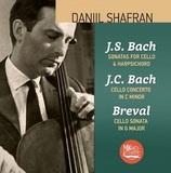 Даниил Шафран / И.С. Бах: Cонаты, И.К. Бах: Концерт, Бреваль: Соната (CD)