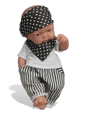 Комплект из хлопка - На кукле. Одежда для кукол, пупсов и мягких игрушек.