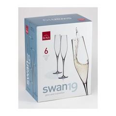 Набор из 6 бокалов для шампанского «Swan», фото 1
