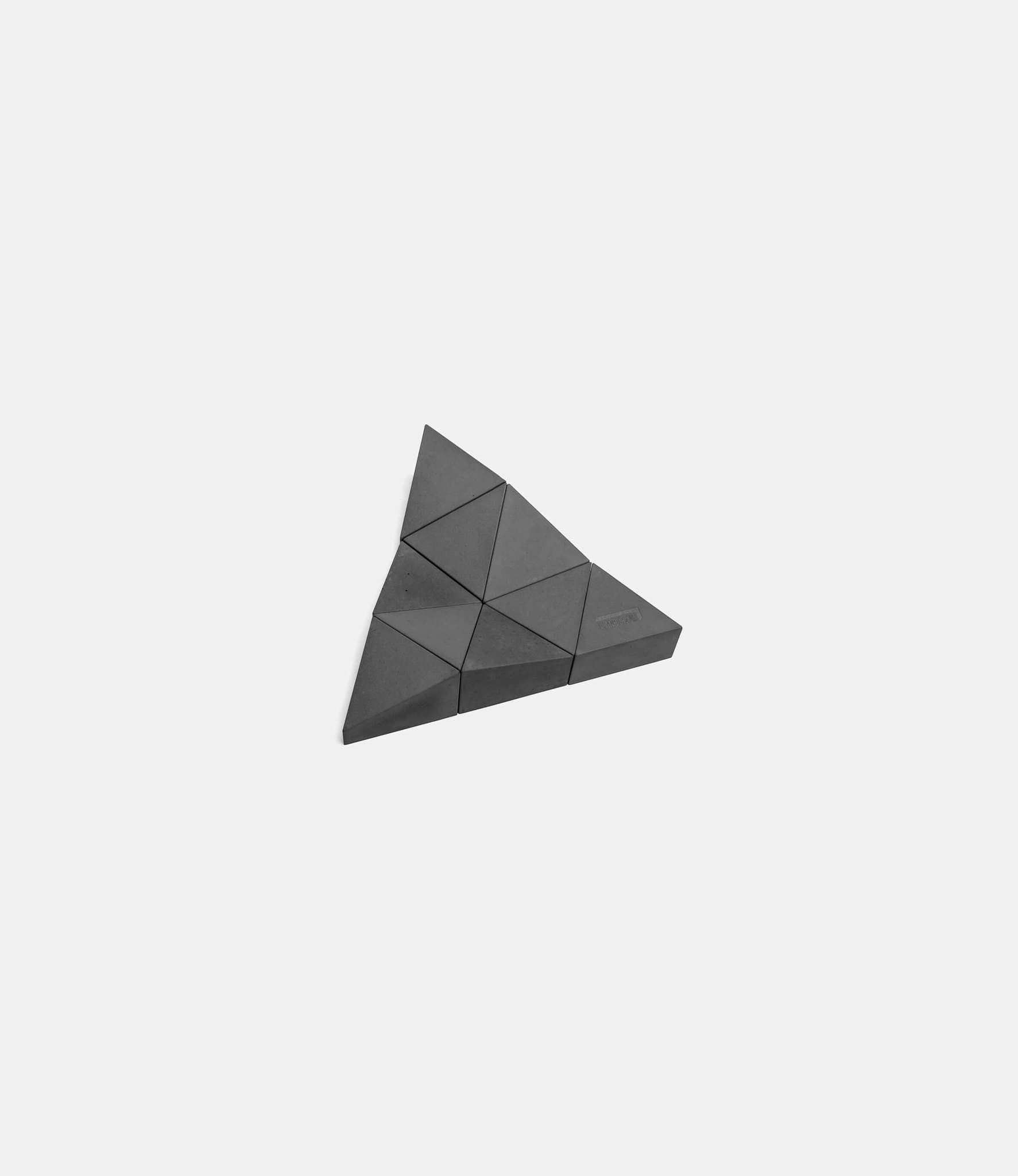 Logideez Logifaces Beginner Set Basalt — пазл из бетона: серый базальт