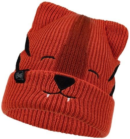 Вязаная шапка Buff Hat Knitted Funn Tiger Tangerine фото 1