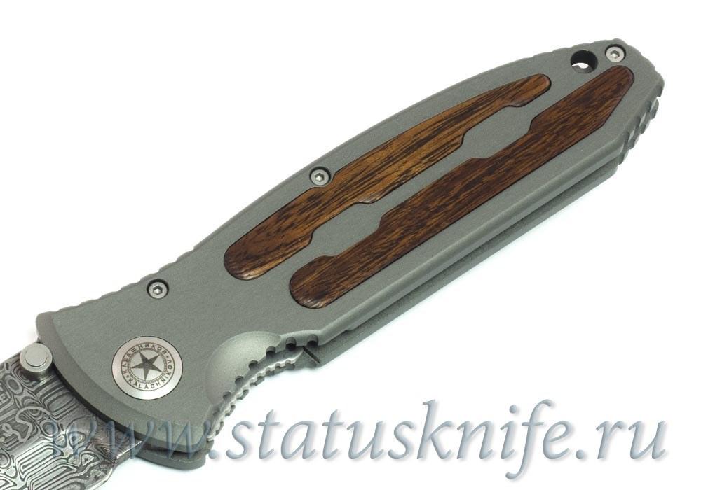Нож Boker Kalashnikov Leo Damascus - фотография