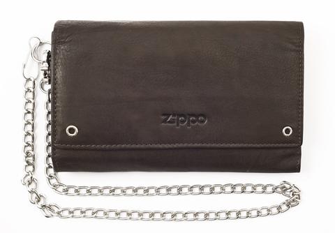 Кожаный бумажник байкера ZIPPO 2005129