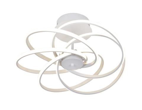 Потолочный светодиодный светильник FL440/5 WH белый 100W 4200K 550*550*260 (Без ПДУ)