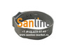 Кольцо обжимное 16мм Sanline Lite нержавеющее c защелкой