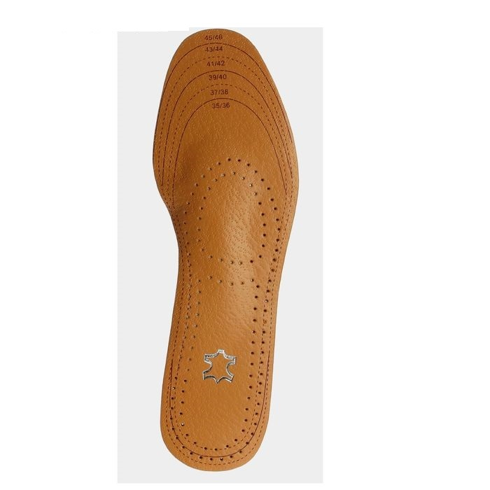 Кожаные ортопедические стельки для тесной и классической обуви