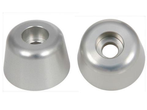 Слайдеры ручек руля BMW F800R/S/ST/R1200R серебро