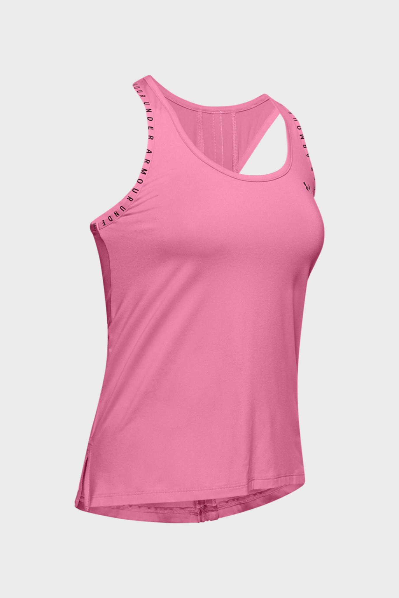 Женская розовая спортивная майка UA Knockout Tank Under Armour