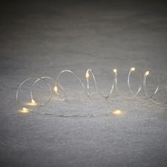 Гирлянда на серебряном проводе 10 LED Luca Lighting