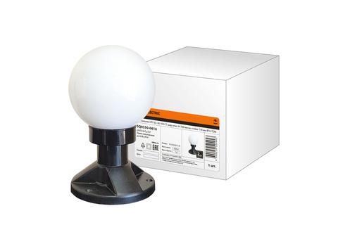Светильник НТУ 03- 60-160-С1 шар опал d=160 мм на стойке 130 мм IP54 TDM