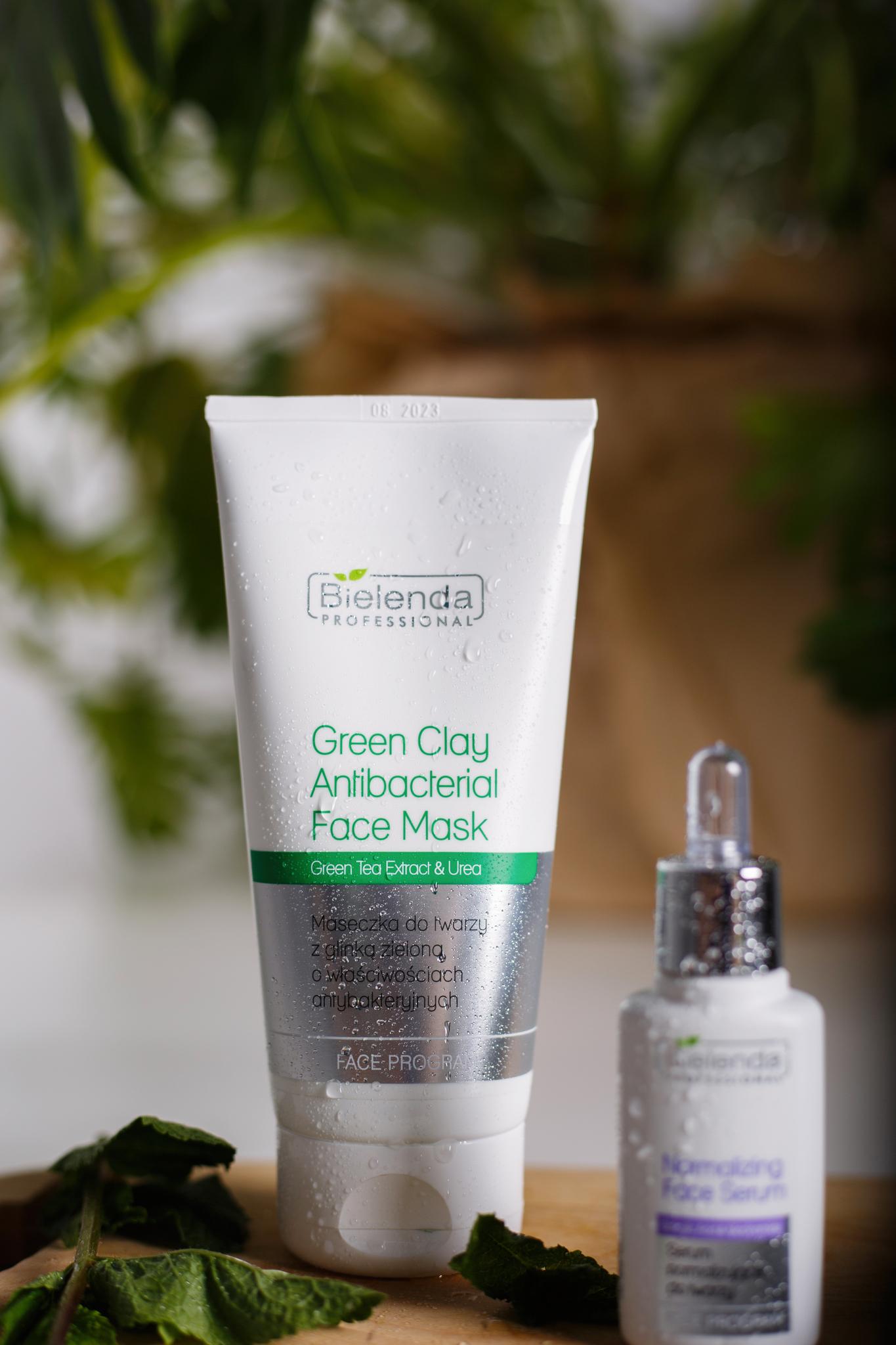 SEBO-PURITY BALANCING  Антибактериальная маска для лица с зелёной глиной, 150 г.