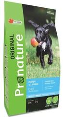 Корм для щенков всех пород, Pronature Original DOG PUPPY ALL BREEDS, с курицей и овсом