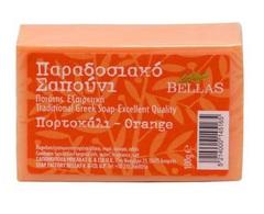 Натуральное оливковое мыло с апельсином Bellas 100 гр