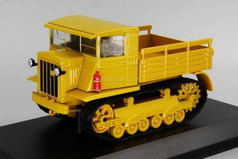 Tractor Stalinets-2 (S-2) Transport crawler 1:43 Hachette #66