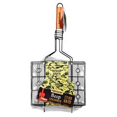 Решетка-гриль для овощей с антипригарным покрытием, веер в подарок